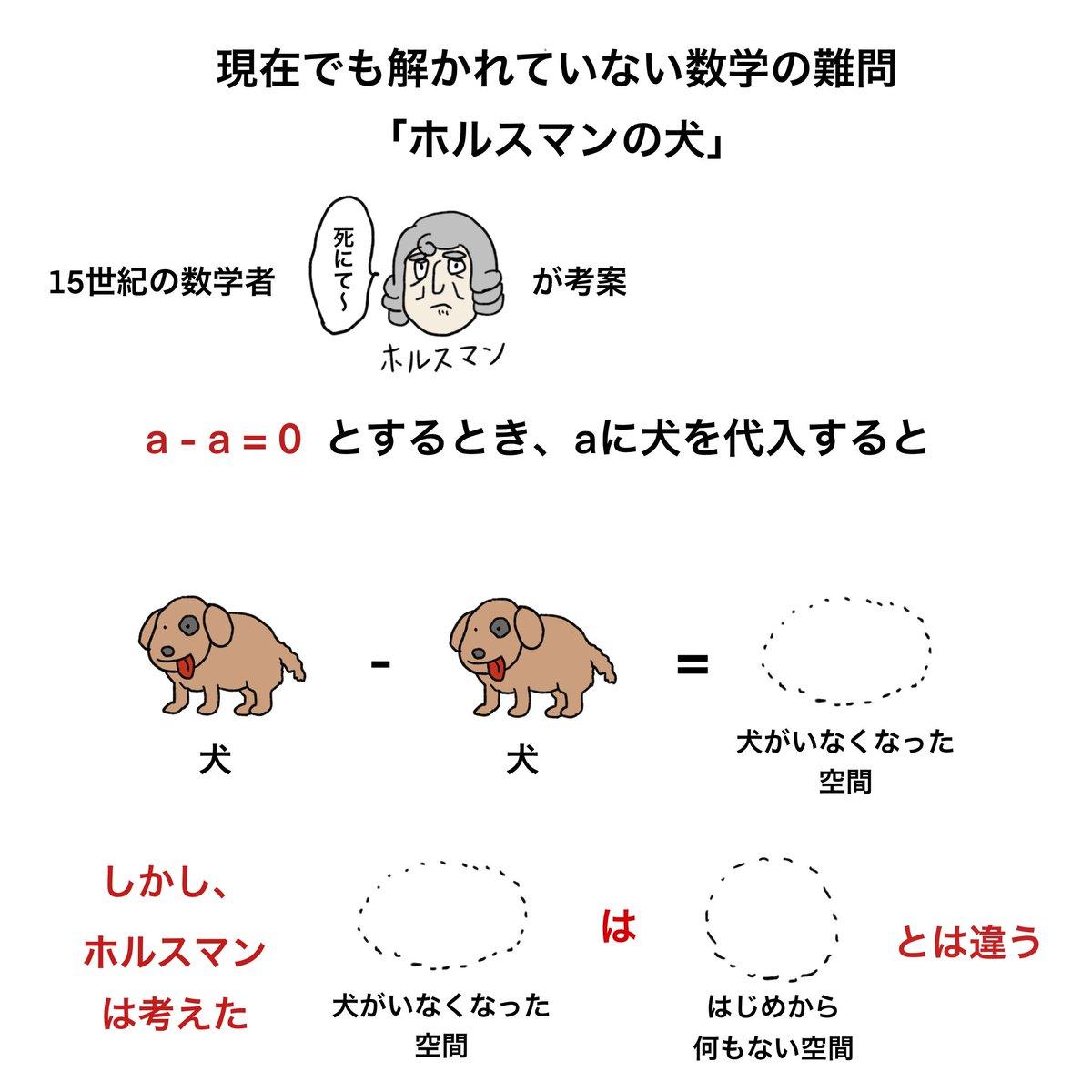 できすぎた数式!飼っていた犬を失った時の喪失感を表す「ホルスマンの犬」の定理が凄い!