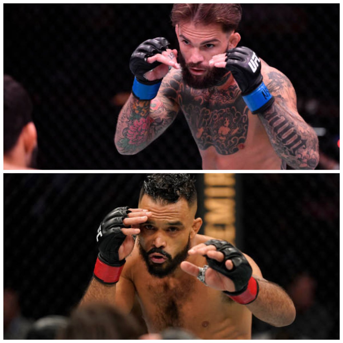Per sources, Cody Garbrandt (@Cody_Nolove) vs. Rob Font (@RobSFont). May 22. Five rounds. Main event. Sick fight ... Who you got? https://t.co/mAWt96o1jk