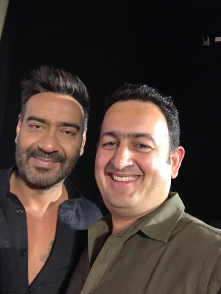Happiest birthday to the most humble star I have known so full of warmth 🤗 Have a fantastic life ahead @ajaydevgn sir!