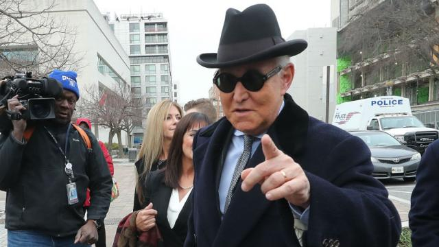 @thehill's photo on Roger Stone