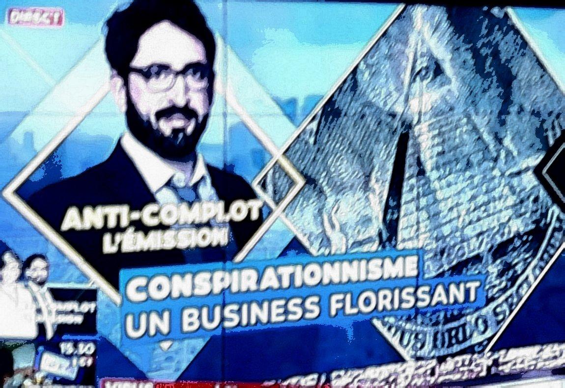 Anticomplotisme : le business  de Thomas Huchon