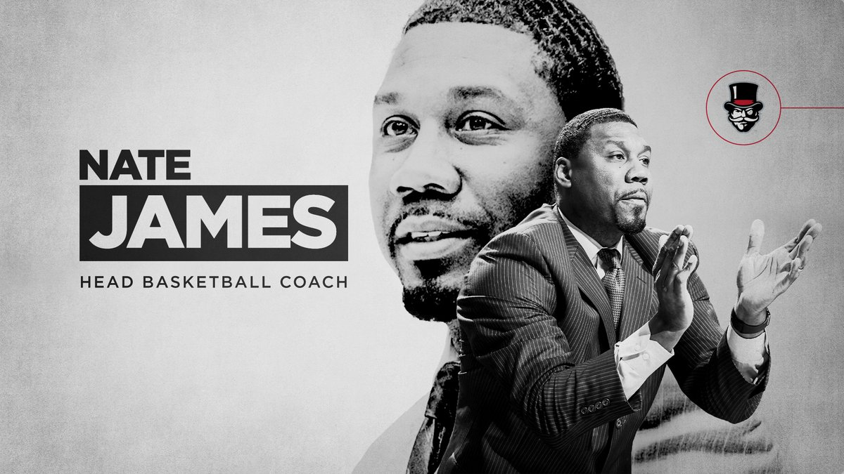 Congratulations and welcome to @RealNateJames as the 13th head men's basketball coach in Austin Peay history!   📰 https://t.co/aZSqEe7ewr  #LetsGoPeay https://t.co/WbnNUdQOel