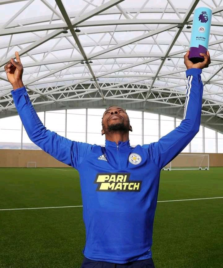Very happy to be named the EA Sports @premierleague player of the month, March 2021. Thanks to my teammates the manager, staffs and everyone at this awesome club @LCFC and all the fans 💙 OLUOMACHUKWU 🙏🏾 https://t.co/IYwRMBdiS4