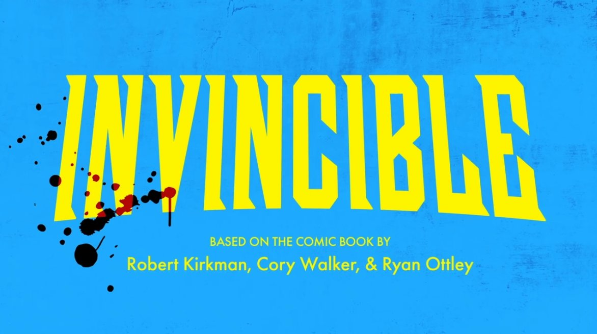 """INVINCIBLE on Twitter: """"Anyone else notice that the title cards are getting  bloodier every episode?… """""""