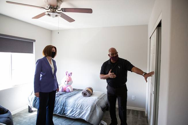 Were in the Las Vegas Sun! Read about our safe house and Senator Catherine Cortez-Masto visiting us!