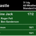 16:30 @NewcastleRaces  1st Medicine Jack 17/2 2nd Cmon Cmon 16/1 3rd Thaayer 10/1  A Win for @rogerfell22 and Ben Sanderson  Full Results here: https://t.co/rLjvnbRkaI #HorseRacing #Results