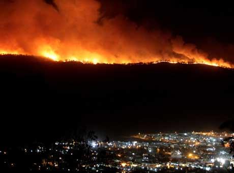 Juego entre Chivas y Santos se jugará pese a alerta ambiental por incendio forestal