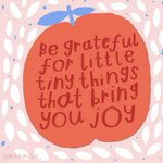 Image for the Tweet beginning: Be grateful for little tiny