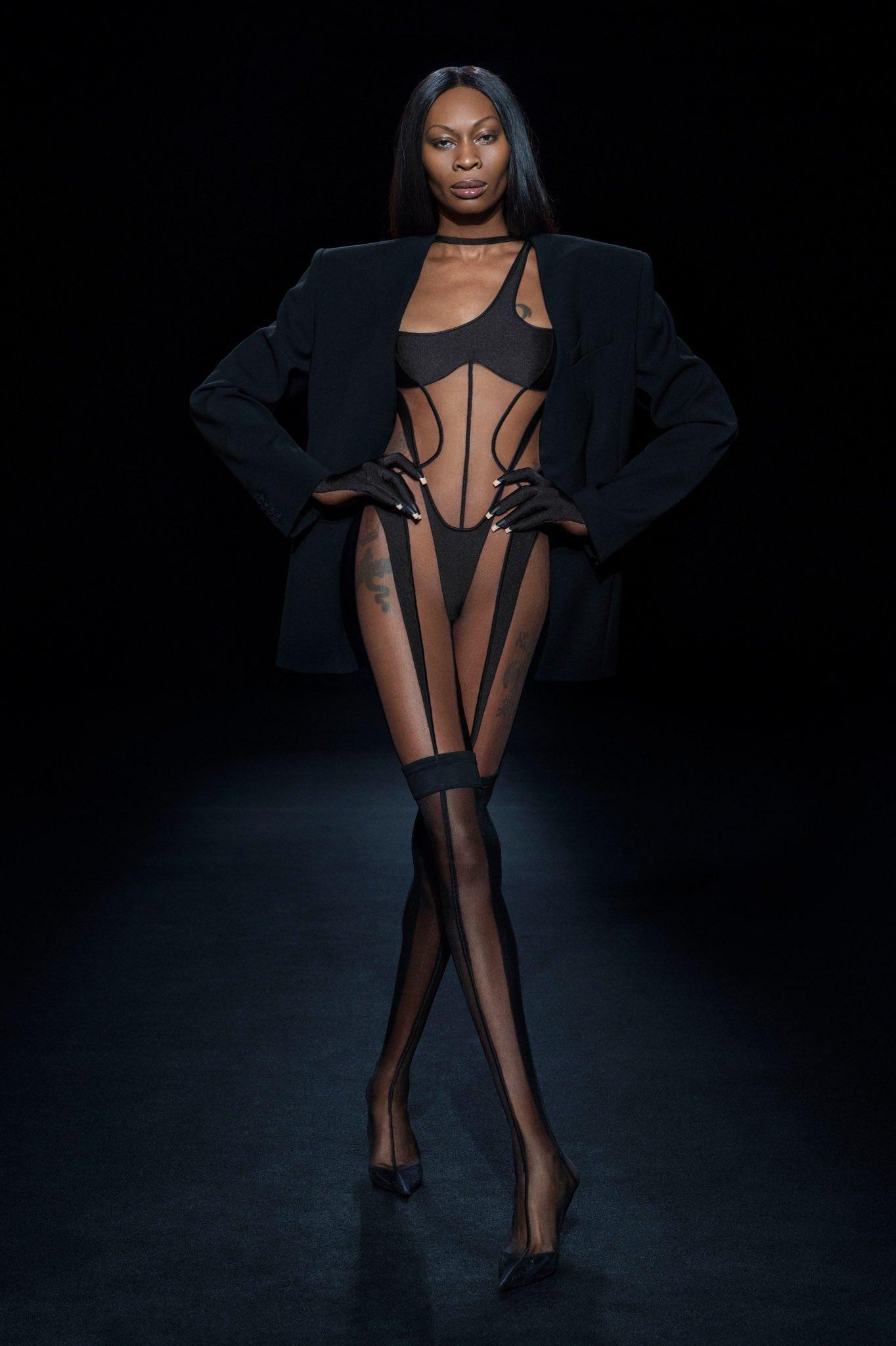 Dominique Jackson for Mugler SS21 - Entertainment News - Gaga Daily