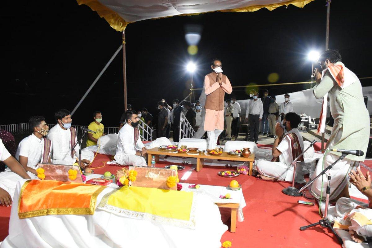 Madhya Pradesh Chief Minister in Gujarat