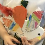 Image for the Tweet beginning: Making our birds. #SJV1B #SJVDT