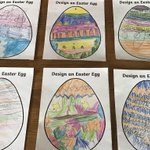 Image for the Tweet beginning: 2W Design an egg competition.