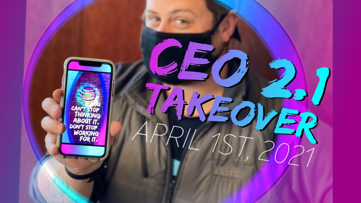 #TeamKO is taking over the CEO2.1 Call for #KAMO and we are HYPED. Wear our #TeamKO phone wallpaper takeover and get motivated! 💙💜📲  #LifeAtAtt #KAMO #H4N1