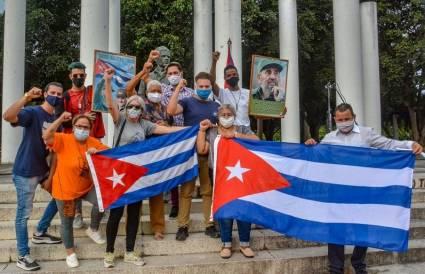 Jóvenes de Cuba conectados con la historia