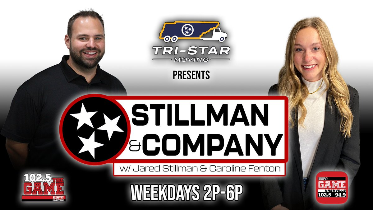 """ESPN 102.5 The Game 😷 on Twitter: """"ESPN 102.5 The Game is proud to  announce the addition of Caroline Fenton to their afternoon show """"Stillman  & Company"""" with host Jared Stillman, which"""