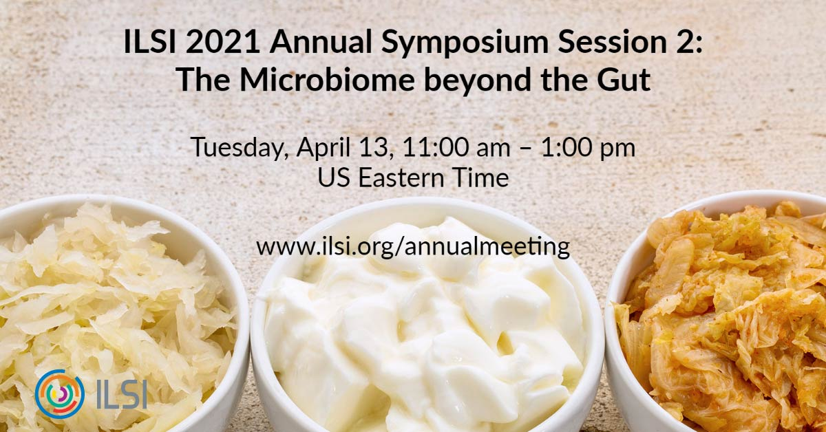 Today kicks off the @ILSI_Global Annual Symposium, in the spotlight: 🔄#FoodSystems transformation 🕑14h CEST 🦠The #microbiome beyond the gut 🕔17h CEST 📝You still have time to register! https://t.co/os2j2Ibrig