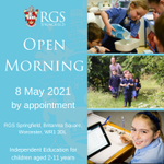 Image for the Tweet beginning: 📣 RGS Springfield would like
