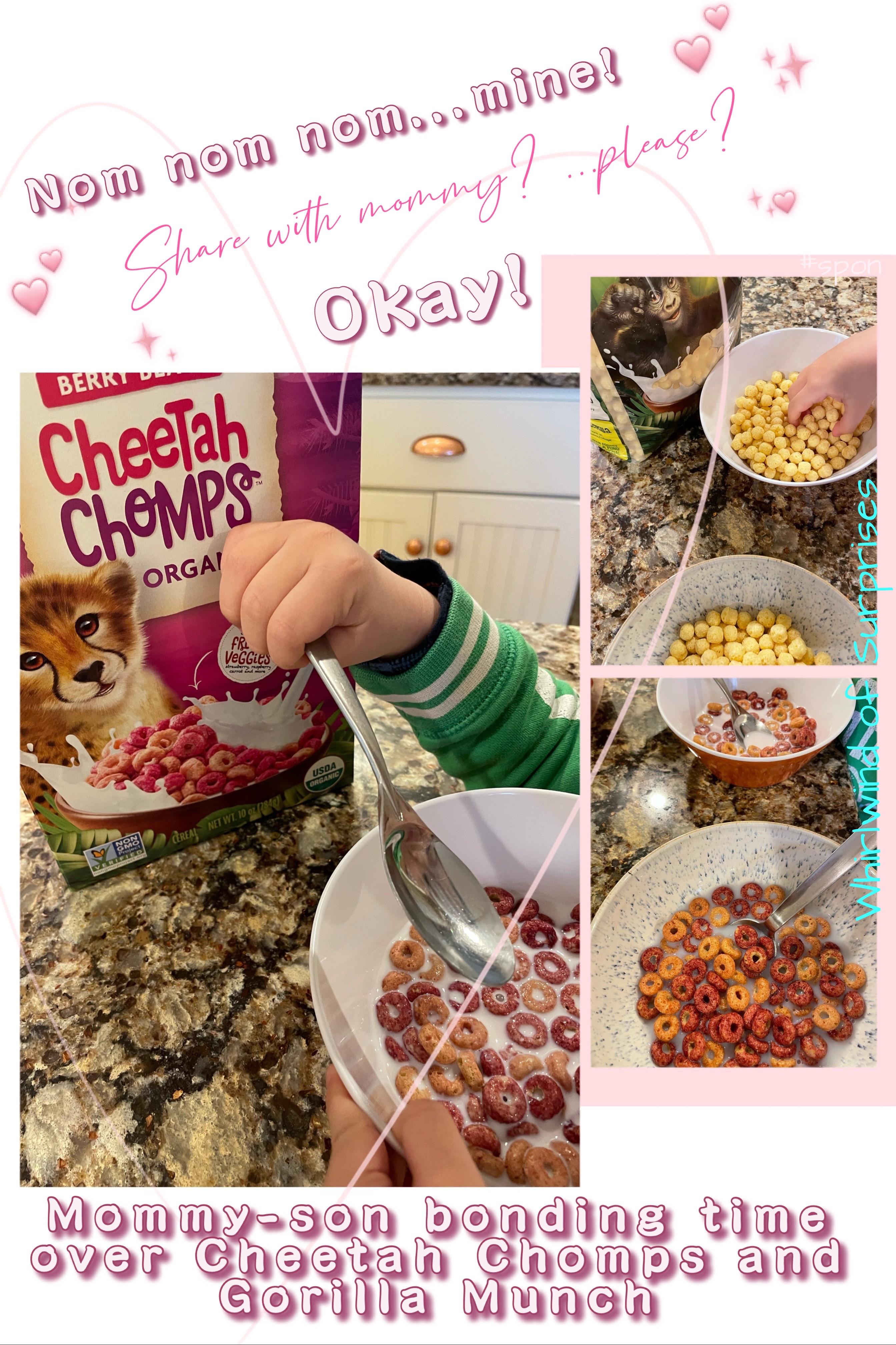 Our kid loves his EnviroKidz cereal and activities
