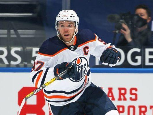 NHL fines Oilers' Connor McDavid $5K for elbowing