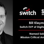 Image for the Tweet beginning: Switch EVP of Digital Solutions,