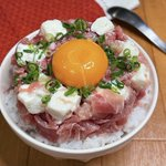 最高の組み合わせ!生ハムとクリームチーズで作る丼ものレシピ!