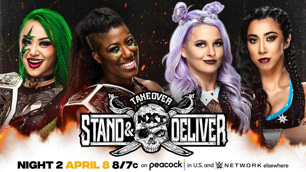 NXT TakeOver Stand & Deliver https://pbs.twimg.com/media/Ex2tgoCWYAA1yMB?format=jpg&name=medium