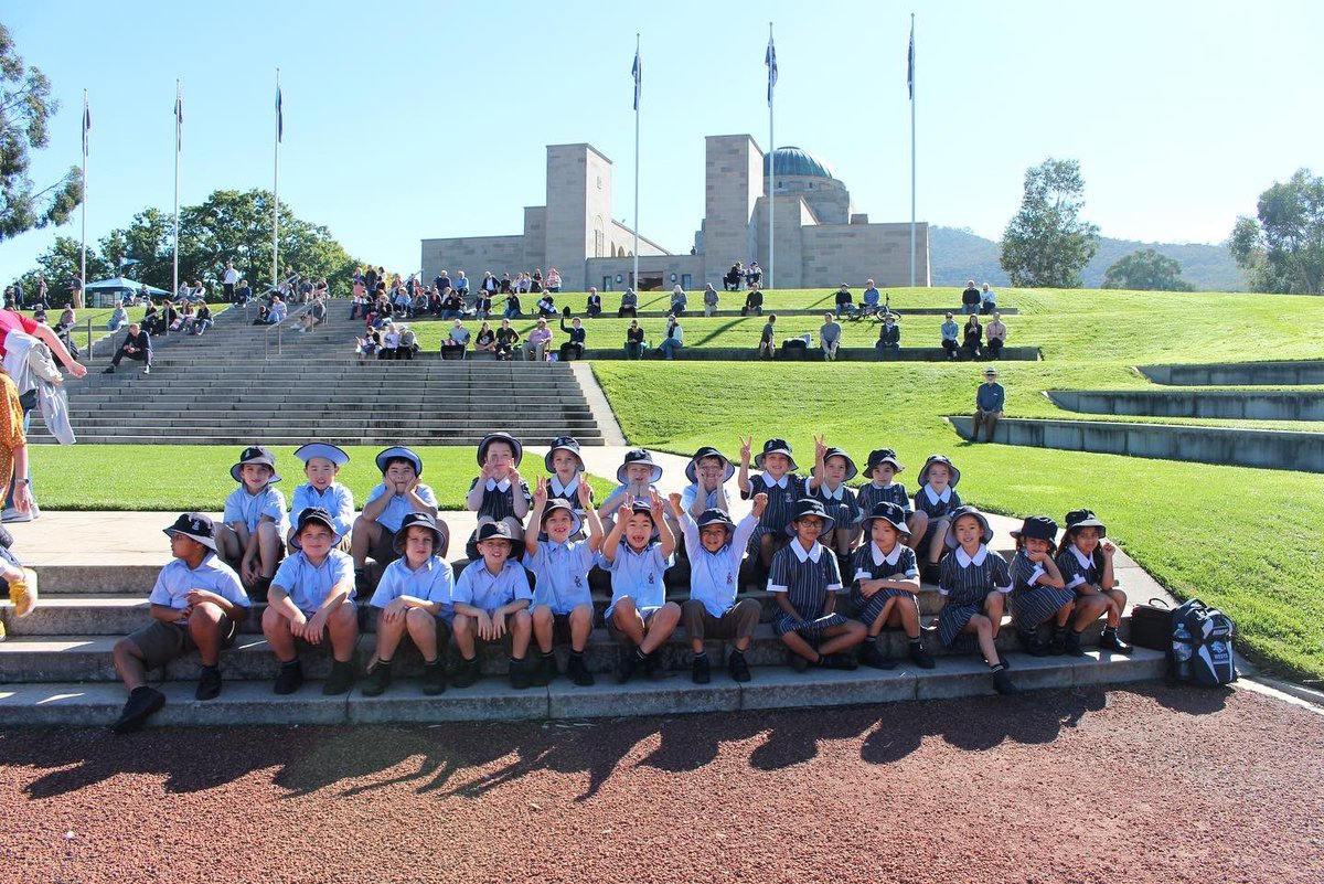CGS students joined yesterday's crowd as they flocked to vantage points on Anzac Parade and at nearby Lake Burley Griffin to watch the Royal Australian Air Force Centenary Flypast, celebrating 100 years!