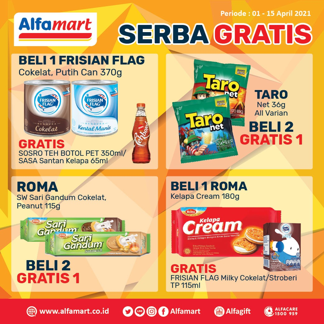 Promo Serba Gratis Alfamart
