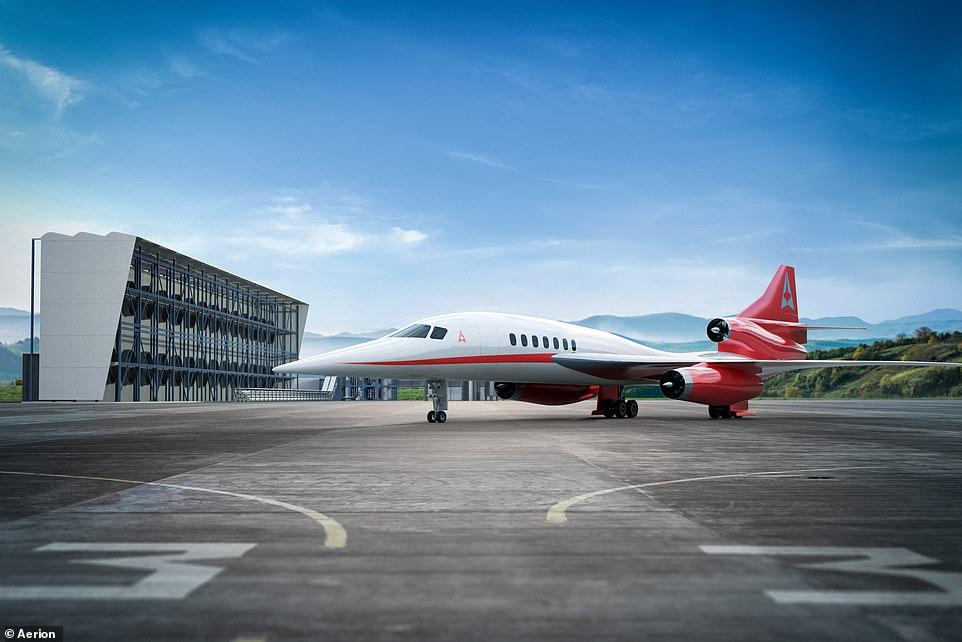 洛杉矶飞东京仅2.5小时!载客50人超音速飞机展示