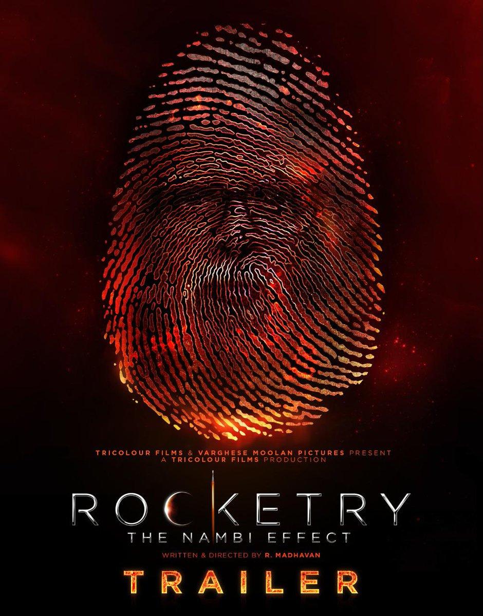 "taran adarsh on Twitter: ""R MADHAVAN: #ROCKETRY TRAILER... #Madhavan makes  his directorial debut with #Rocketry: #TheNambiEffect... Biopic of #Indian  scientist and aerospace engineer #NambiNarayanan... #RocketryTrailer:  https://t.co/uDbSse0HTj… https ..."