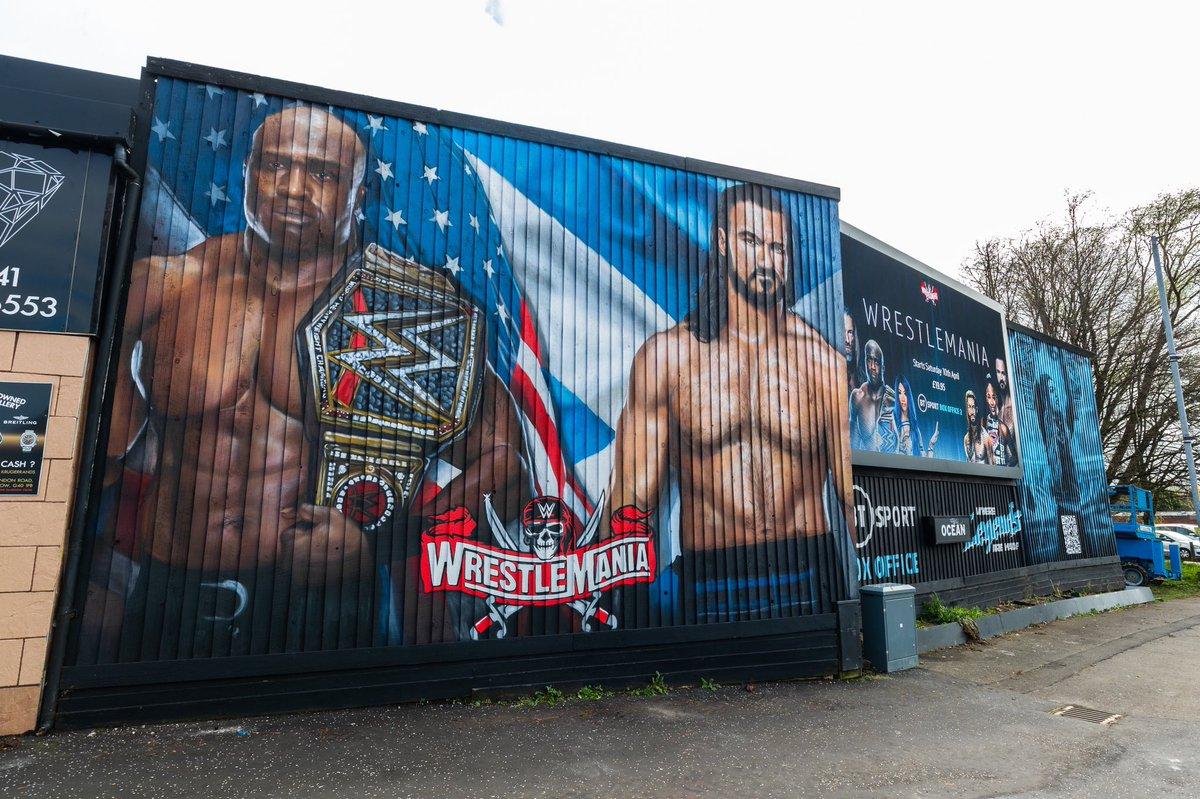 Drew McIntyre And Bobby Lashley React To WrestleMania 37 Billboard