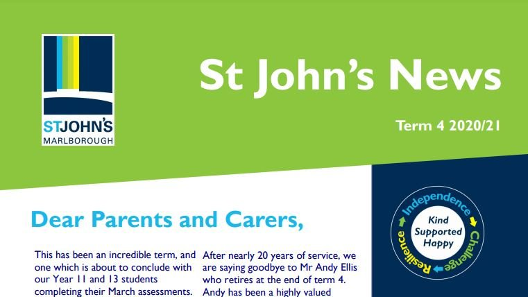It's been a busy term at St John's. Read our latest news here: https://t.co/UIgQEToBRQ