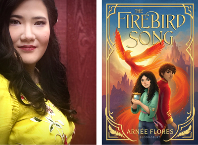 test Twitter Media - Welcome Arnée Flores to our Virtual Book Tour! The author talks to us about her debut novel, The Firebird Song. Visit our blog for an exclusive interview, activities and much more! #kidlit https://t.co/9QyLeFWT6y @arneedflores @bloomsburykids @blooms https://t.co/zrGvxcjJ02