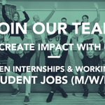 Image for the Tweet beginning: Check out our open internships