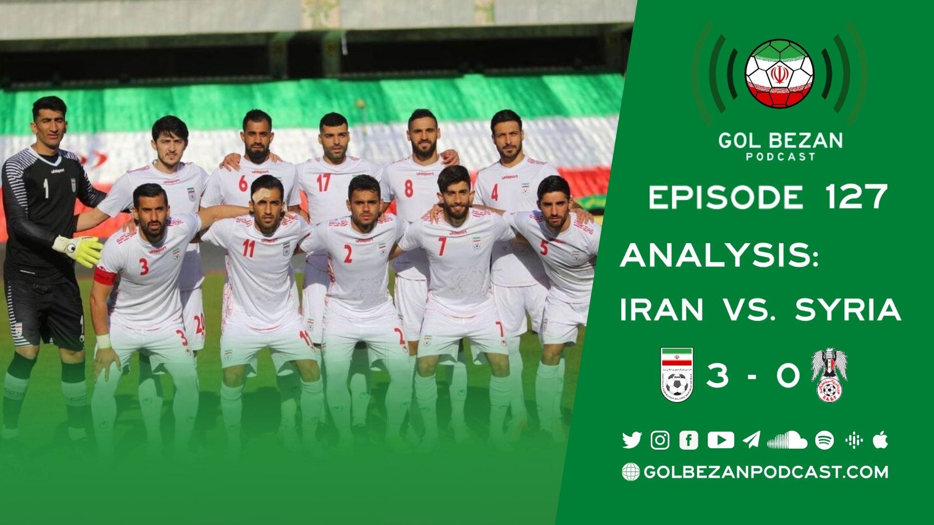 Analysis: Iran vs. Syria