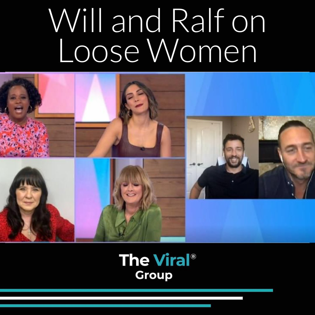Ralf Little and Will Mellor on Loose Women