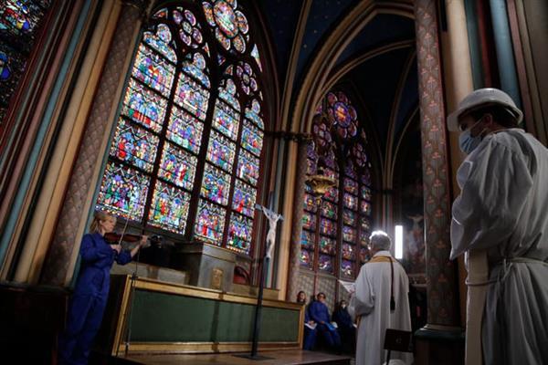Jueves Santo en Notre Dame