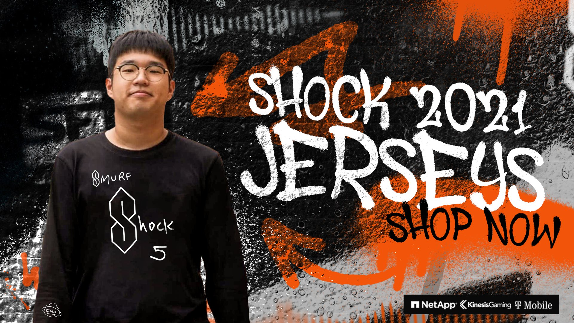 Choihyobin San Francisco Shock Overwatch League Jersey