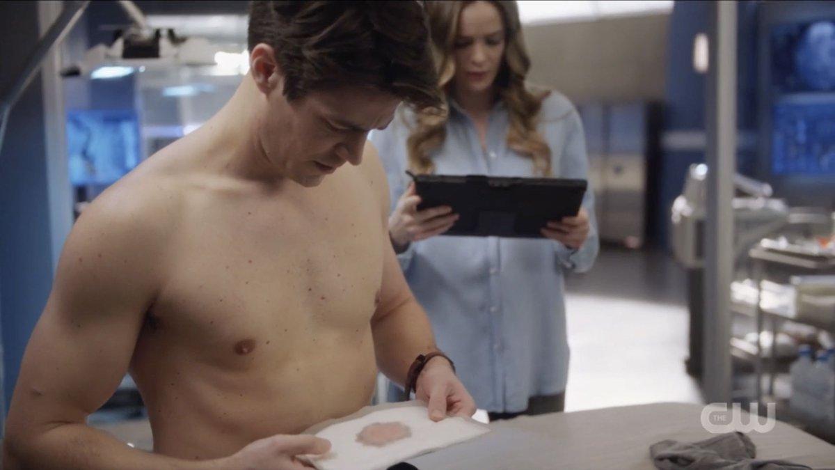 Shirtless grant gustin The Flash