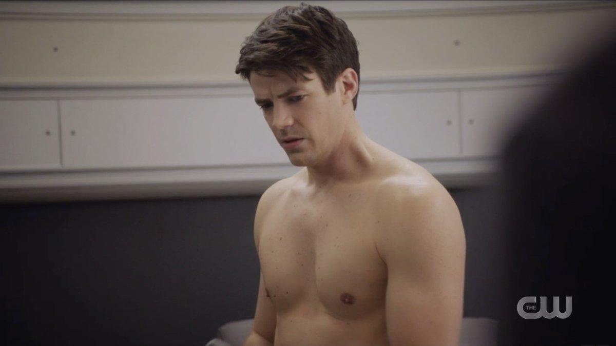 Grant gustin shirtless