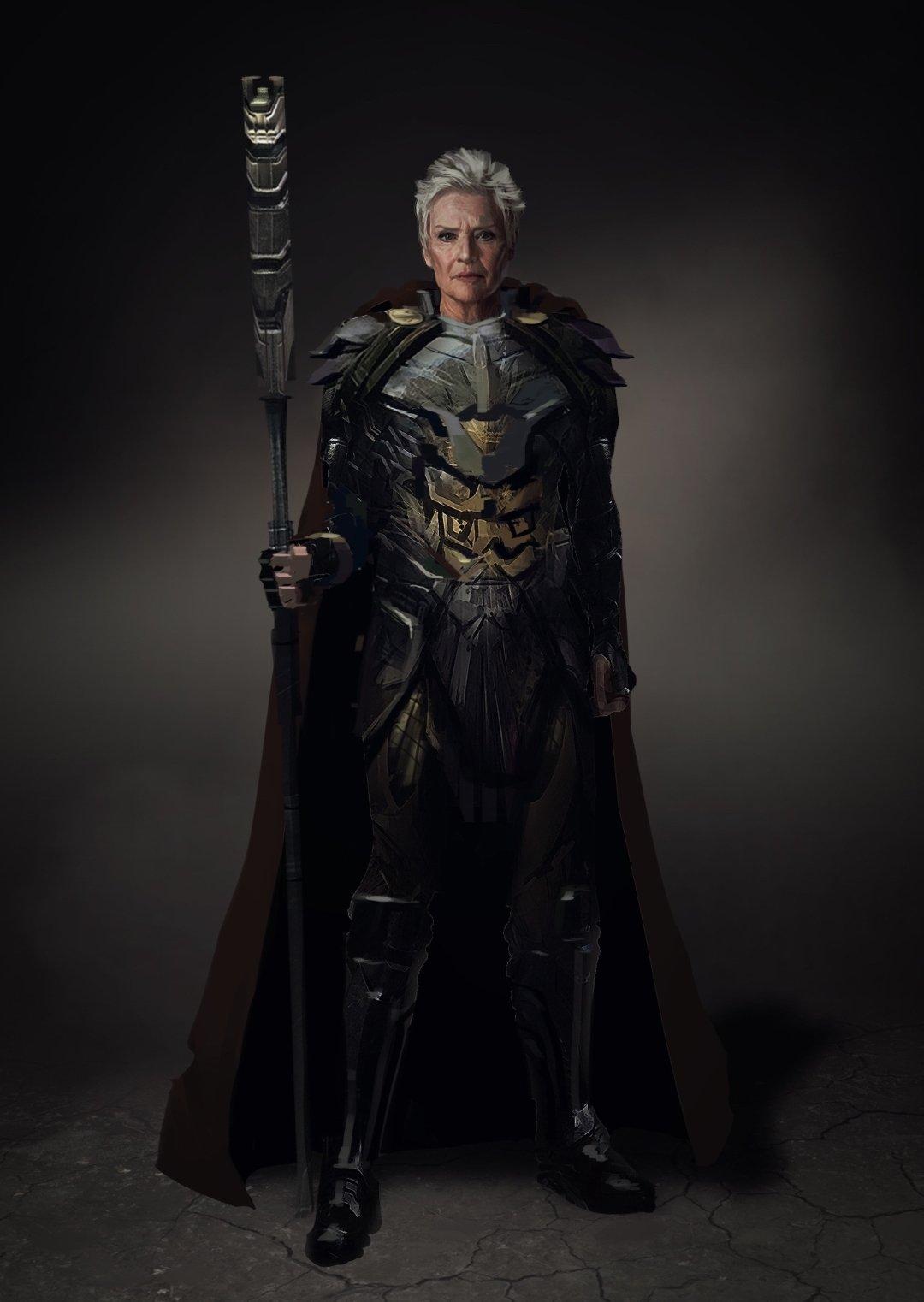 Vovó Bondade; Liga da Justiça de Zack Snyder; Snyder Cut