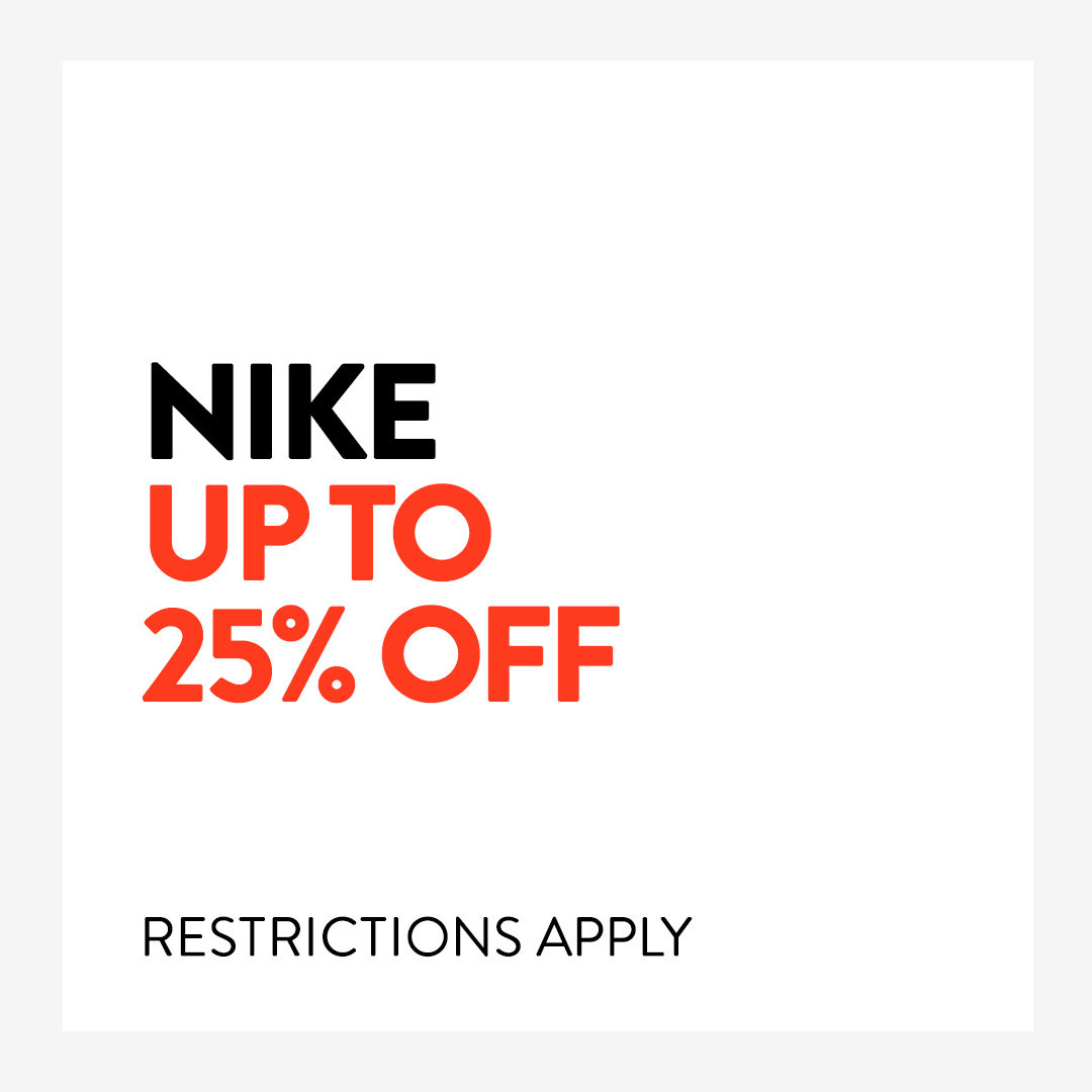 We're price matching selected Nike shoes and apparel for women, men and kids now through April 3. Shop now: https://t.co/Yq1KHpFw4d Restrictions Apply: https://t.co/Sjv3oh16t6 https://t.co/mQn7dq8X5Z