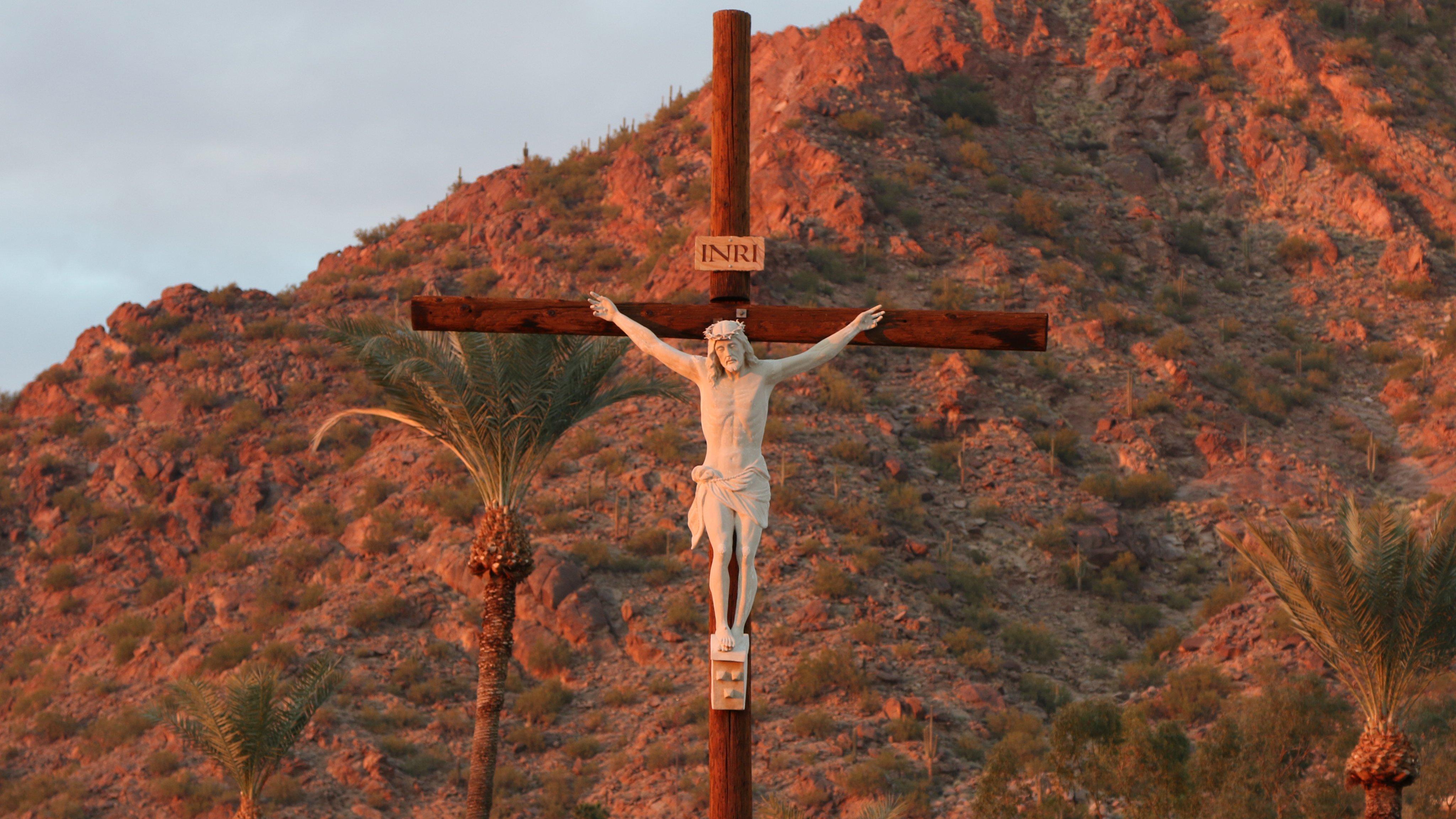 Wallpaper de Jesus Cristo Crucificado