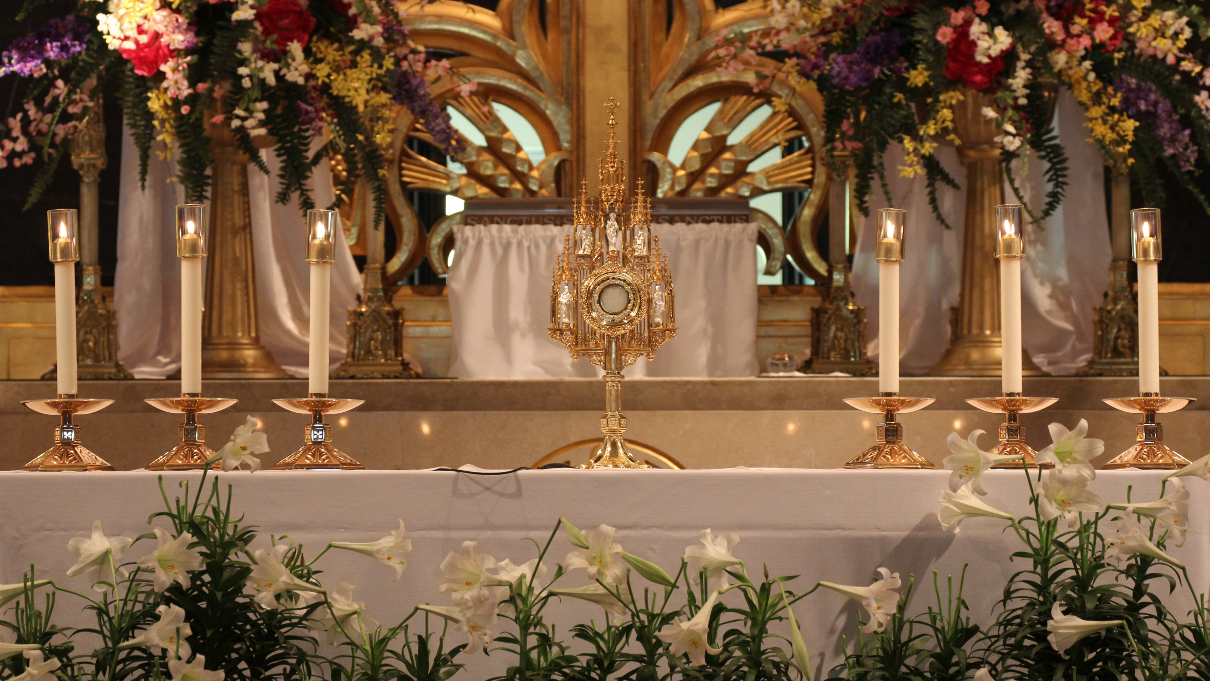 Wallpaper of the Blessed Sacrament