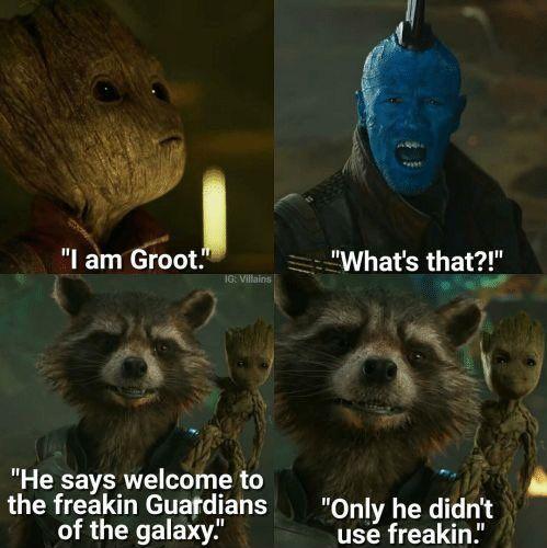 Of 2 guardians zitate deutsch the galaxy Guardians of