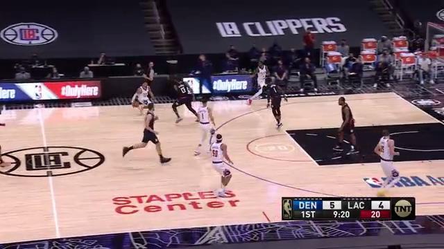All 5⃣ starters in double-figures tonight!  @BeMore27: 23 MPJ: 20 @WillTheThrillB5: 19  @Double0AG: 14 Nikola: 14  #MileHighBasketball https://t.co/aIMaFCd0np
