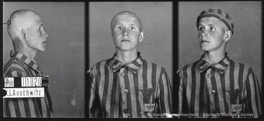 3 April 1921 | A Pole, Michał Hamerski, was born. A farmer.  In #Auschwitz from 5 April 1941.  No. 11820  He was shot on 11 November 1941. https://t.co/n1C7v9zpsr