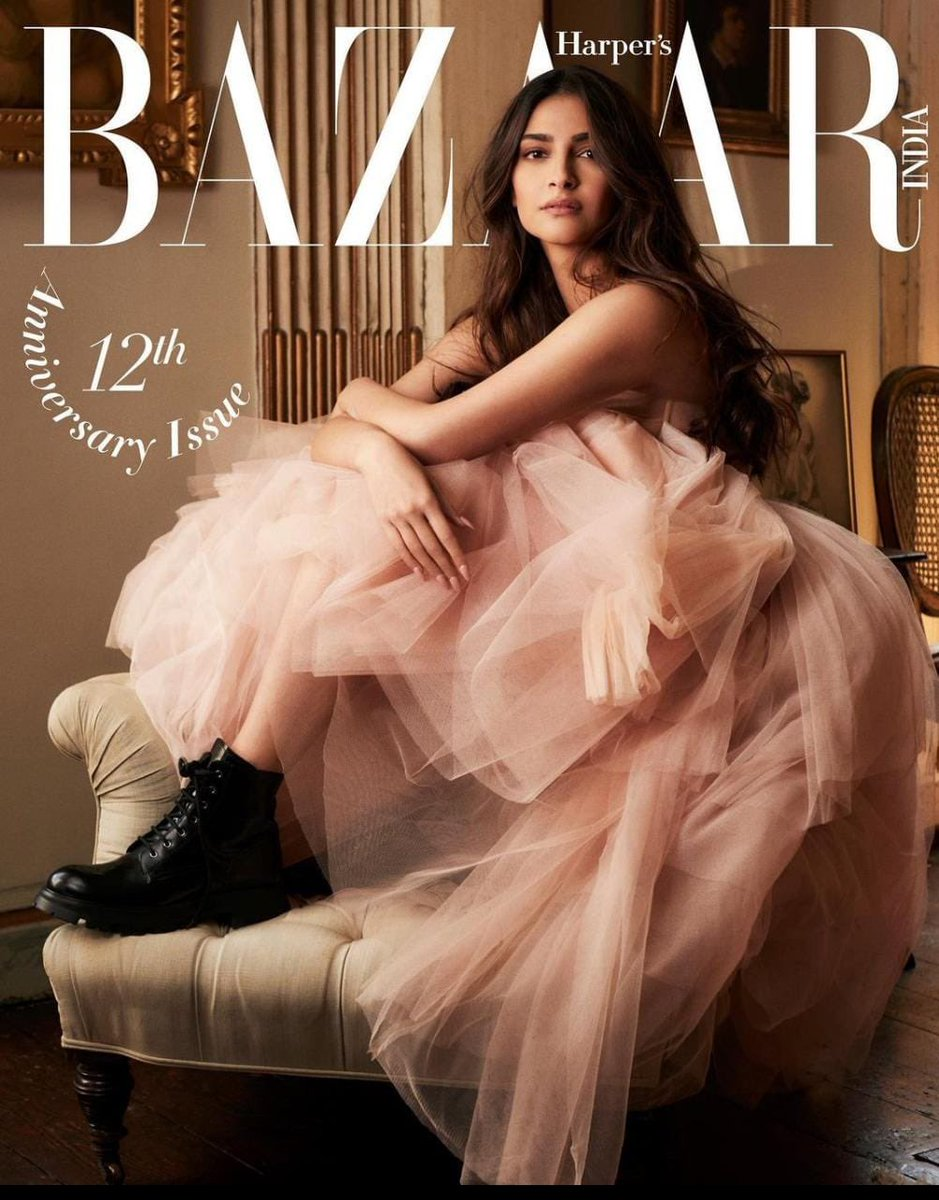 #Bazaarturns12 @BazaarIndia   Digital Editor: Nandini Bhalla (@nandinibhalla ) Photographs by: Damian Foxe (@DamianFoxe ) Styled by: Elad Bitton  Hair: Dayaruci at @TheWallGroup  Actor's Reputation Management: @MediaRaindrop  U.K. publicist : Chandni Modha  Outfit : @McQueen