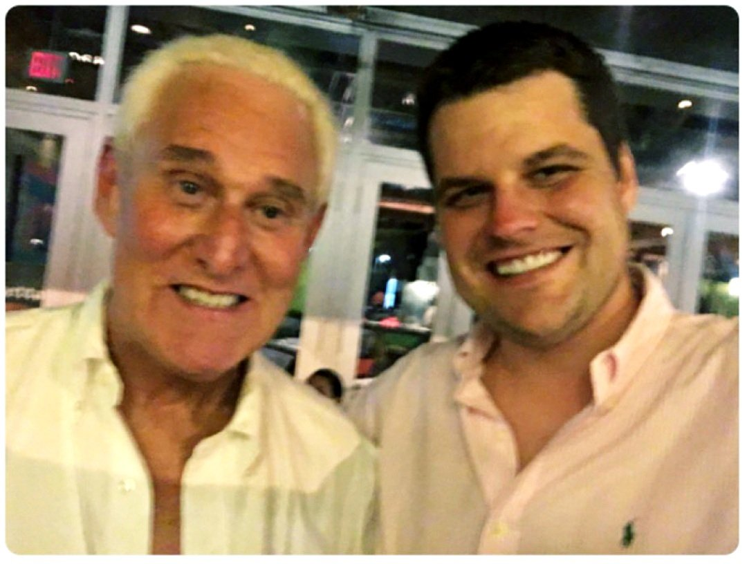 @TrialLawyerRich's photo on Roger Stone