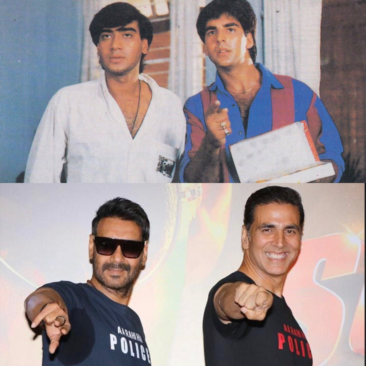 From then to now, you've been an amazing co-star and part of my journey. Wishing you a very happy birthday @ajaydevgn. May you keep growing from strength to strength. Much love 🤗